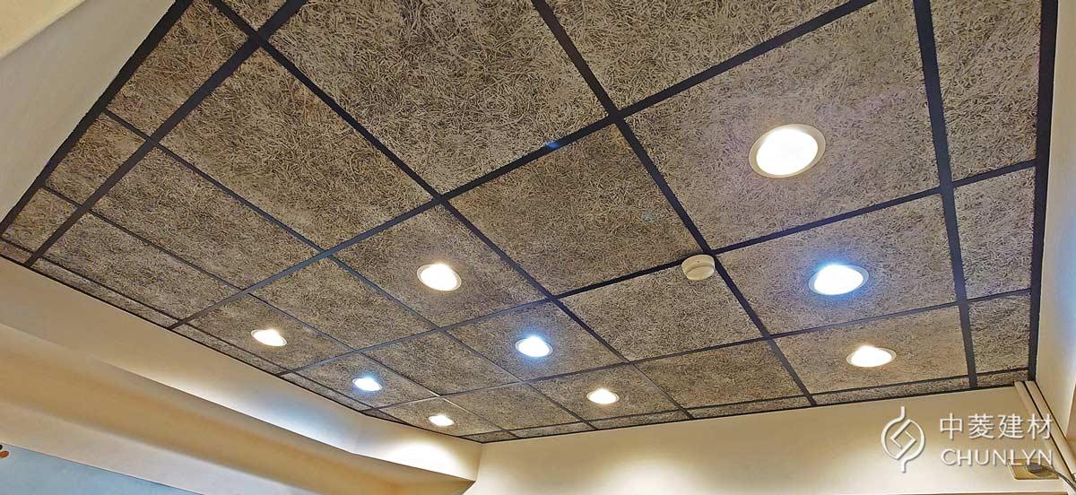 鑽泥板明架天花板案例-台北辦公室