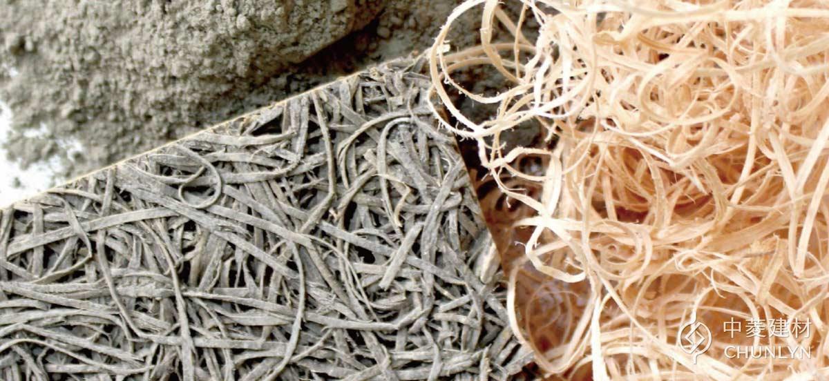 中菱利用疏伐材所製成的鑽泥板與木絲,將會12 / 10〜12 / 13台北國際建材展「國產材台灣館」展