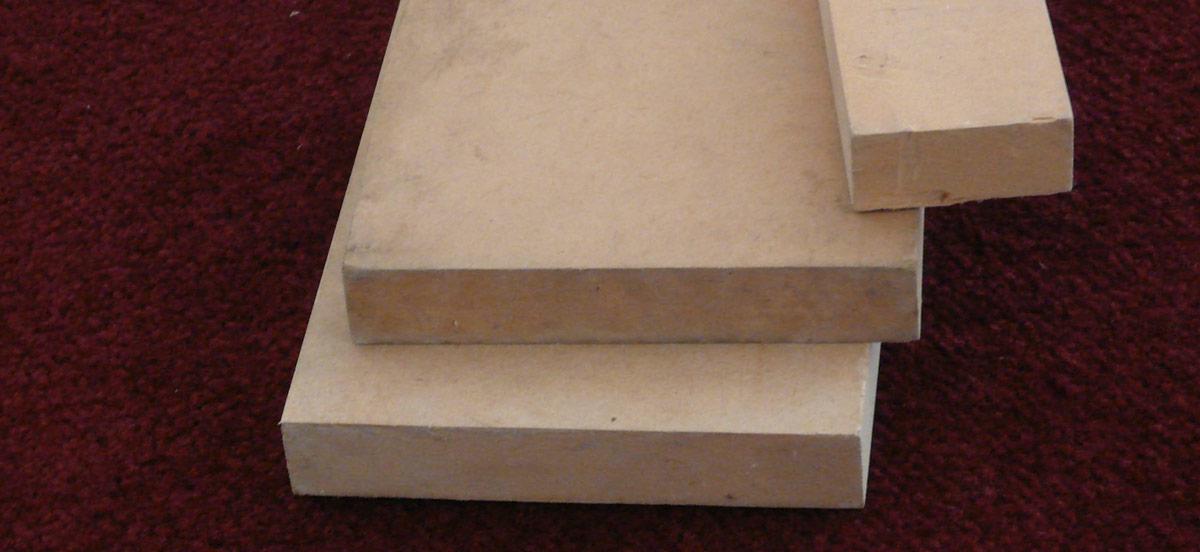 密集板質地細緻平整。(圖片來源/維基百科-Medium-Density Fiberboard)