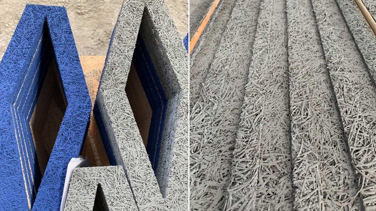 鑽泥板以良好的隔熱、吸音性為人知,不只讓人擁有舒適體感,在設計面上也具有高度可塑性,不論造型或色彩都能玩出多種風味。