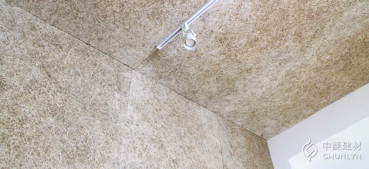 鑽泥板屬於自然建材,不只對環境與人體無害,外觀上也有自然色澤與紋理的特色。